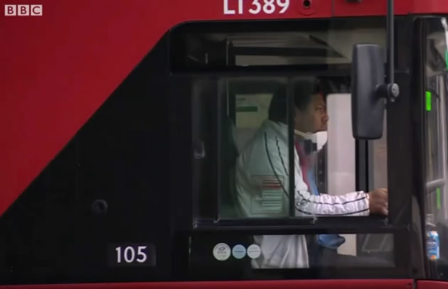 London Bus Drivers Coping With Both Abuse and Bereavement