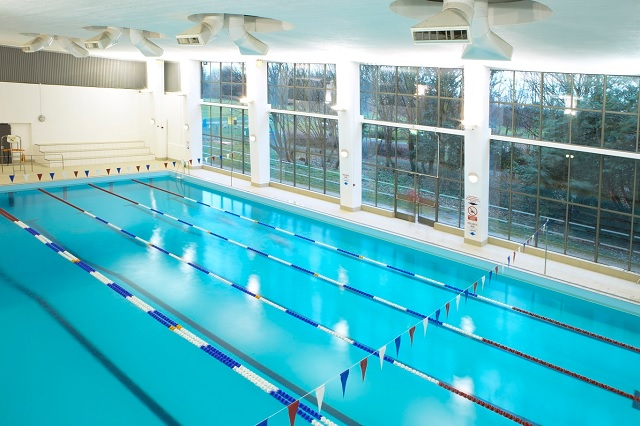 The pool at Isleworth Leisure Centre